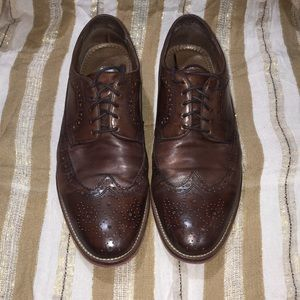 Johnston & Murphy Wingtips 10M (Well Loved)